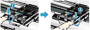 インクジェットプリンター エラーランプがオレンジ色に点滅している Pixus Ip100